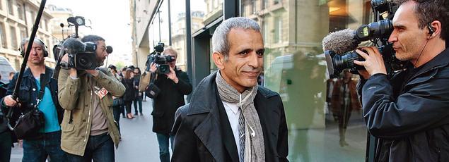 Malek Boutih (ici le 29 avril, à Paris) dénonce notamment«l'enracinement d'un nouvel antisémitisme».