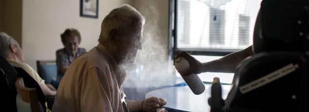 François Braun, président du Samu-Urgences de France a constaté «un nombre de cas non négligeable de pathologies très graves chez des personnes âgées, avec des hyperthermies majeures».