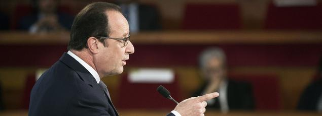 François Hollande souhaite poursuivre le mouvement de baisse de la fiscalité l'année prochaine.