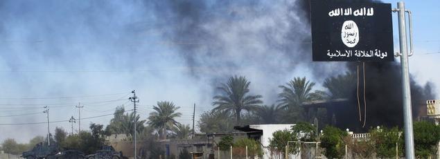 Combat pour le contrôle de la ville de Saadia en Irak entre les soldats de Daech et les soldats irakiens.