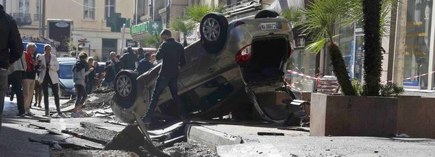L'état de catastrophe naturelle va être déclaré après des crues provoquées dans la nuit de samedi à dimanche par les orages dans les Alpes-Maritimes.