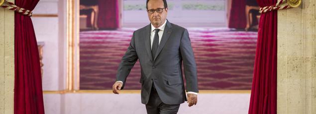 François Hollande se pose en protecteur du modèle sociale français.