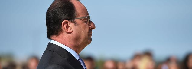 François Hollande jeudi à Marseille.