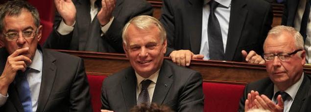 Jean-Marc Ayrault à l'Assemblée nationale.
