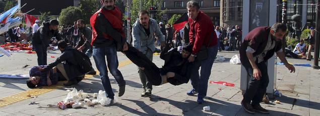 Un rassemblement en faveur de la paix était prévu dans l'après-midi sur le site de l'explosion.