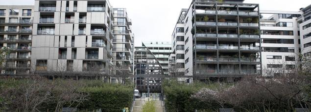 Le quartier Dupleix, dans le XVe arrondissement à Paris, est géré par Paris Habitat.