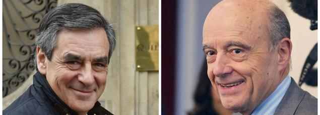 François Fillon, Alain Juppé