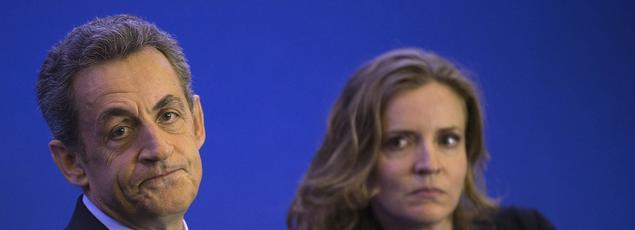 Nicolas Sarkozy et Nathalie Kosciusko-Morizet