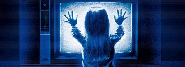 Capture d'écran du film Poltergeist, 1982