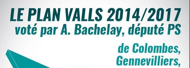 Capture d'écran de l'affiche de la campagne publicitaire de la ville de Colombes.