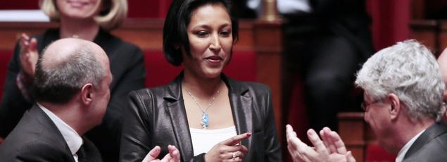 Corinne Narassiguin, porte-parole du PS