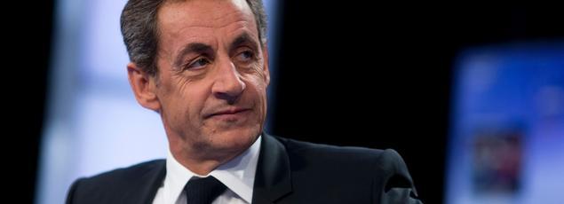 Le président des Républicains, Nicolas Sarkozy