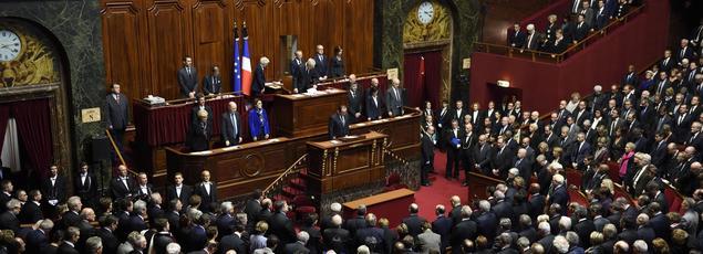 Le Parlement réuni en Congrès.