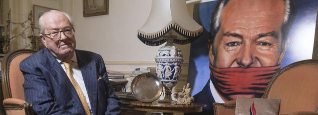 Jean-Marie Le Pen, fondateur et président d'honneur du FN