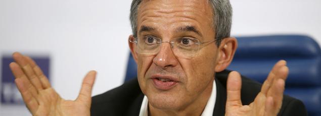 L'ancien ministre Thierry Mariani (les Républicains)