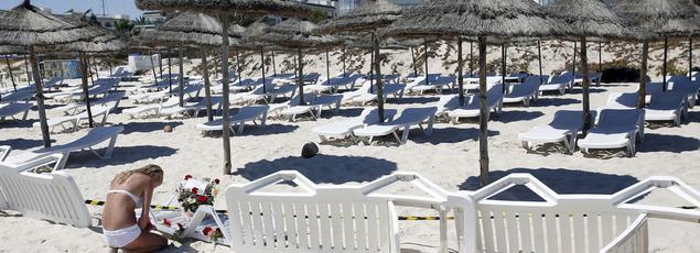 La plage de Sousse en Tunisie (AP)
