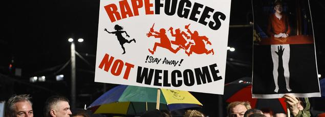 Après les événements de Cologne début janvier, les militants de Pegida en Allemagne