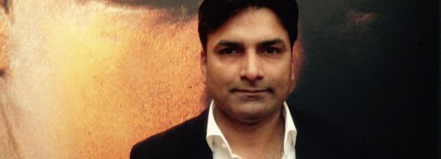 Amar Shah, micro-entrepreneur devenu chef d'entreprise