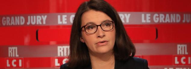 Cécile Duflot au Grand Jury RTL/Le Figaro/LCI, le 7 février 2016.