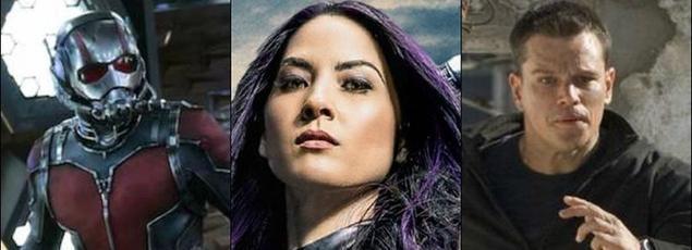 De nombreuses bandes-annonces ont été révélées au cours de la soirée notamment celles  de Captain America: Civil War, X-Men Apocalypse et Jason Bourne.