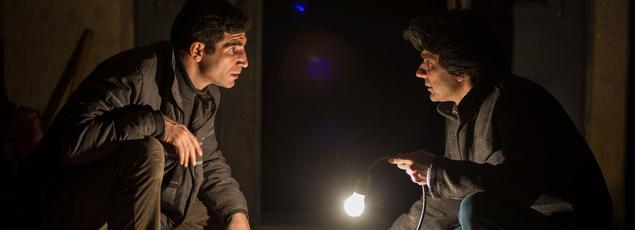 Toma Cuzin et Adrian Purcarescu dans «Le Trésor».