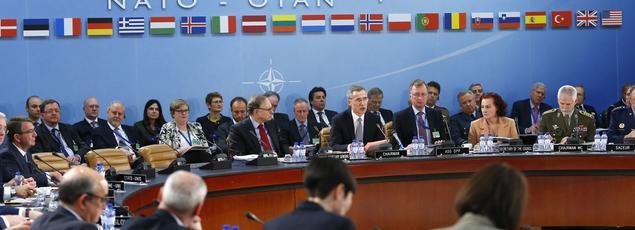 Réunion à Bruxelles des ministres de la Défense de l'Otan.