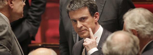Manuel Valls, à l'Assemblée ce mercredi