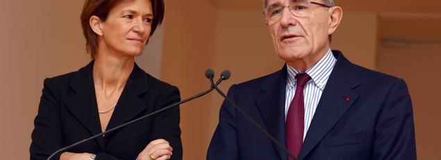 C'est Engie (ex-GDF Suez) - ici Isabelle Kocher, future directrice générale et Gérard Mestrallet futur président non exécutif du groupe - qui affiche le taux de femmes le plus élevé dans son conseil
