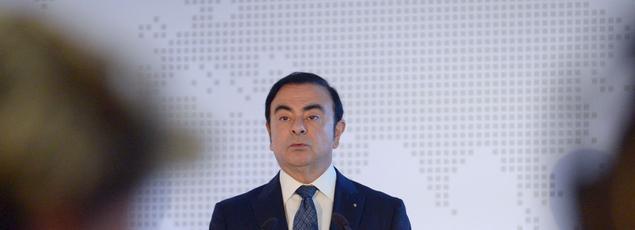 Carlos Ghosn, PDG du groupe Renault