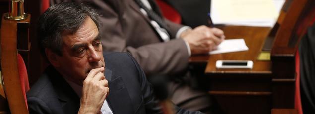 François Fillon, à l'Assemblée nationale le 2 février.