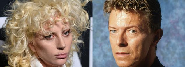 «J'ai toujours senti qu'il utilisait son glamour pour envoyer aux gens un message qui était très cicatrisant pour leurs âmes», explique Lady Gaga à propos de David Bowie.