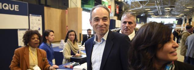 Jean-François Copé, au conseil national des Républicains, samedi, à Paris.