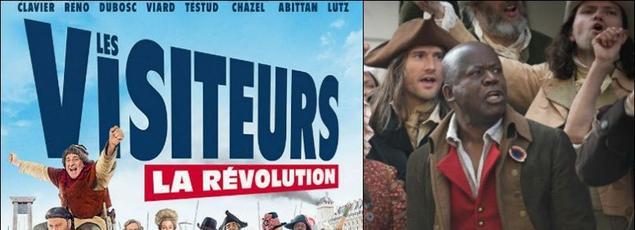 Le film de Jean-Marie Poiré a essuyé de vives attaques quant à l'absence du nom de Pascal N'Zonzi aux côtés de ses camarades de scène.