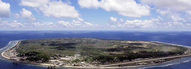 L'Ile de Nauru, dans le Pacifique, mesure 21 km2 - Crédit AFP -
