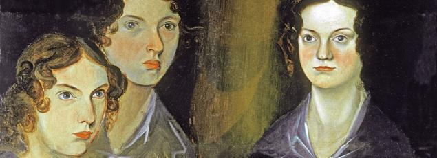 Le portrait de Charlotte, Emily et Anne Brontë peintes par leur frère Branwell.