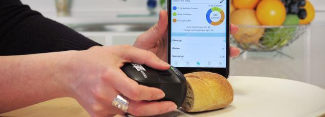 Une nouvelle catégorie d'assistants personnels fournit la composition détaillée de n'importe quel plat. Le scanner alimentaire est capable de décomposer l'empreinte chimique d'un produit. Il affiche les résultats grâce à une application sur votre mobile
