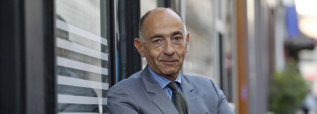 Jean-Marc Janaillac, actuel PDG de Transdev et futur patron d'Air France-KLM. Crédit photo: Jean-Christophe MARMARA/Le Figaro.