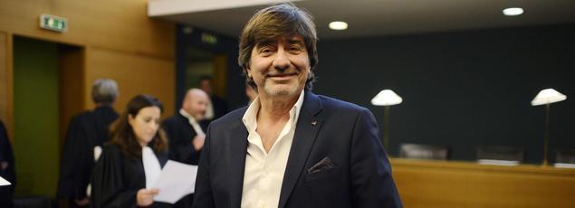 Michel Neyret, en décembre 2014, au Palais de justice de Lyon.