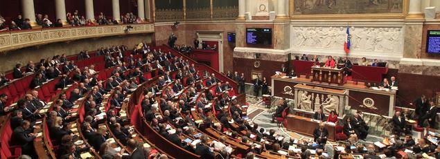 L'Assemblée nationale, le 15 décembre 2015.