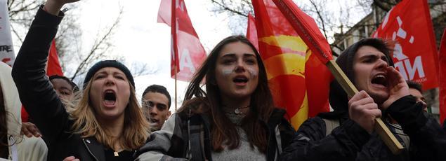 Si les jeunes votaient pour la présidentielle dimanche prochain, le président François Hollande ne passerait pas le premier tour.