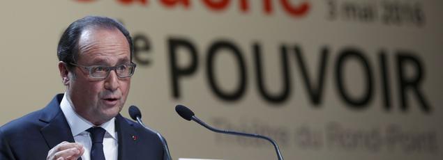 François Hollande s'est exprimé sur le Tafta lors d'un colloque à l'occasion du 80ème anniversaire du Front Populaire