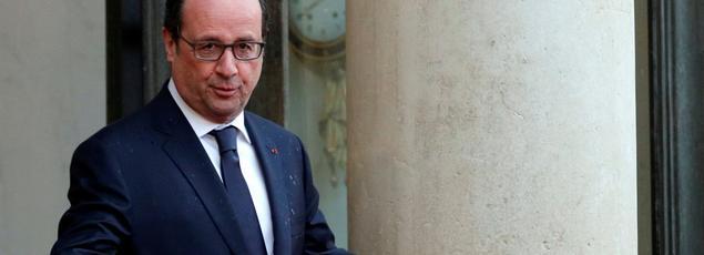 Le président de la République, François Holllande.