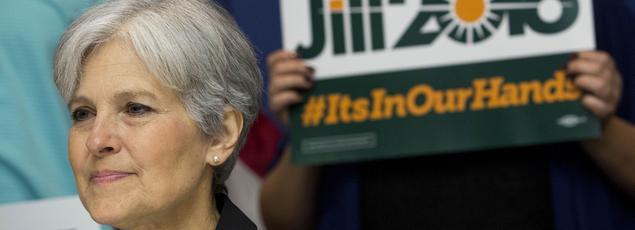 Jill Stein, la candidate écologiste aux élections américaines. Crédits photo: Drew Angerer/Getty Images North America/AFP