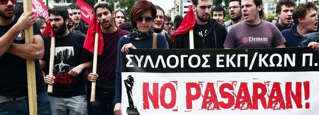Une grève générale de 48 heures a paralysé le pays: aucun transport en commun n'a fonctionné.