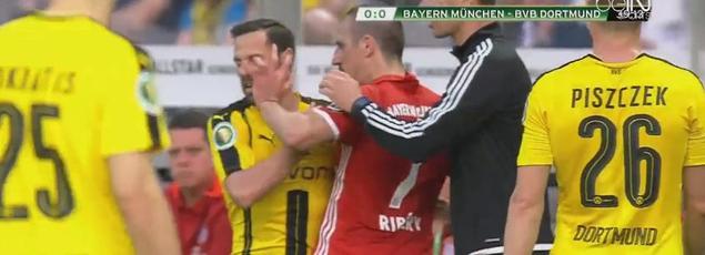 Franck Ribery a fait une «fourchette»