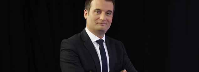 Florian Philippot, député européen et vice-président du Front national, en 2015.