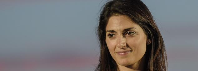 La nouvelle maire de Rome, Virginia Raggi.