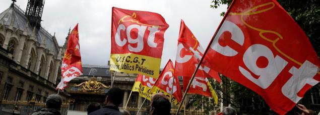 La manifestation du 16 juin contre la loi travail.