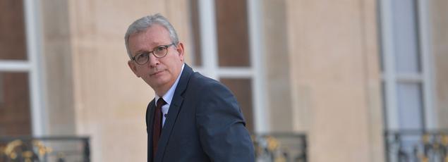 Pierre Laurent à l'Élysée, le 15 novembre 2015.