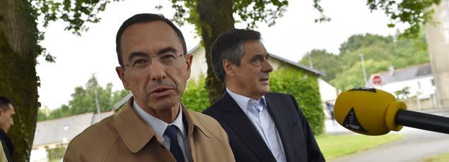 Bruno Retailleau et François Fillon